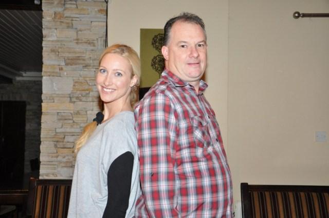 Vicki Massey & Michael Doyle.