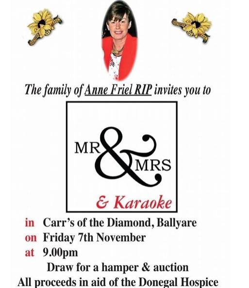 fundraiser Anne