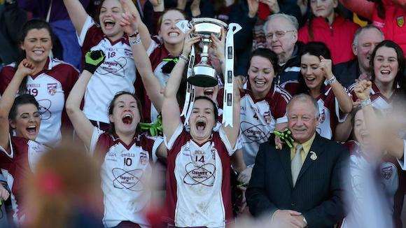 The victorious Termon ladies...you could be a coach to champions too