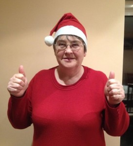 Brid O'Donnell is asking people to don their Santa hats for a water charge protest in Dungloe this Saturday.