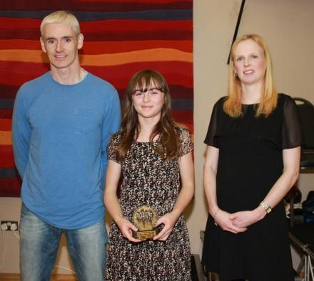 Club Athlete of the Year - Leah Mc Garvey, Scoil Phádraig, Dobhar