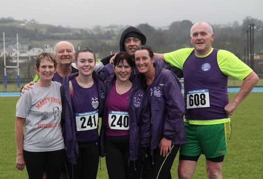 Relief after a great 5K at Finn Valley today. ALL PICTURES BY KIND PERMISSION OF CONOR McGONAGLE