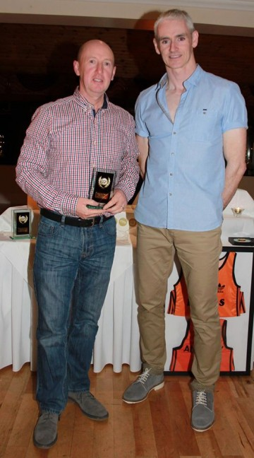 Most Improved Athlete - Niall Griffin
