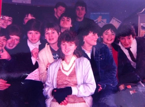 Pupils from Raphoe Vocational School pictured on a school outing in 1985. The school is hoping that former staff and students can unearth many more old photos and pieces of memorabilia ahead of the 50th anniversary celebrations in March.