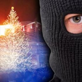 A holiday home in Loughanure was targeted by festive thieves..