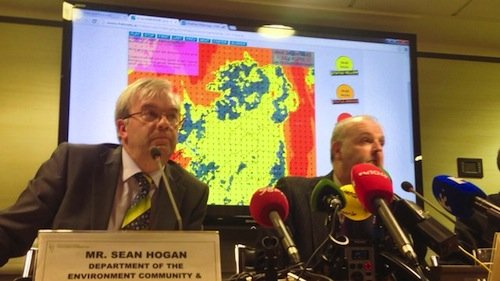The National Emergency Committee held a press conference today to warn the public about the dangers of tonight's storm.