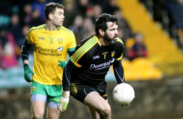 Paul Durcan leads the Donegal charge.
