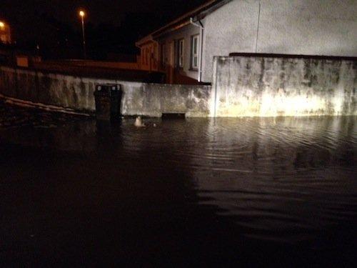 Floods rise in Glenwood.