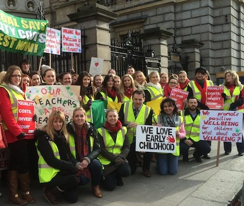 ACP Rally supported by Deputy Charlie McConalogue