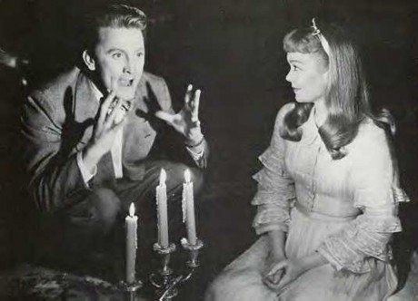 A scene from the original Glass Menagerie starring Kirk Douglas
