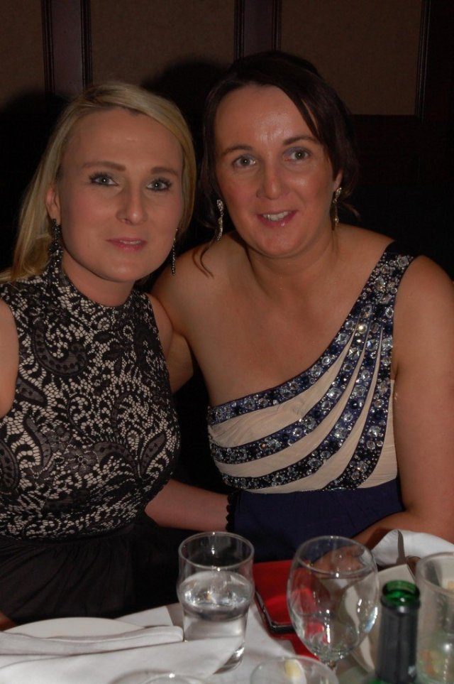 Eileen O'Donnell and Bridie Devenney.