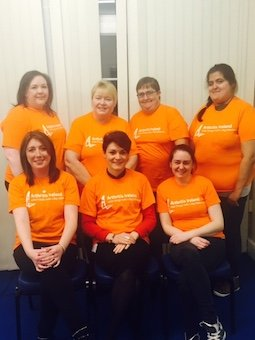 The newly-elected Arthritis Donegal branch Committee