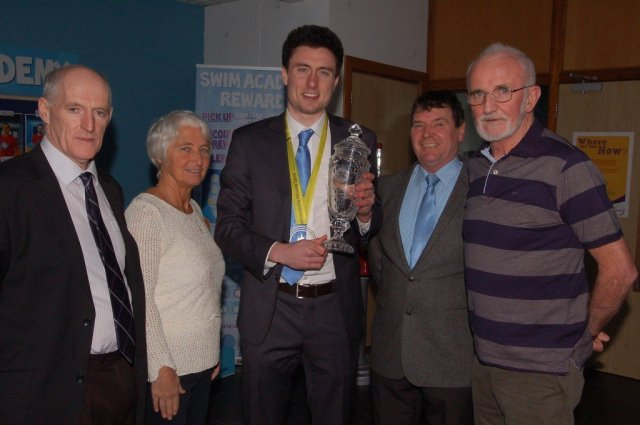 The Donegal Sports Star Awards review of sporting successes in February highlights a fantastic month for athletics in the county with Mark English retaining his Irish 800 metre title and qualifying for the European Indoor Finals in Prague while fellow Letterkenny man Danny Mooney won the Senior Men's 1,500m Final at the AAI Indoor Games in Athlone which put him inside the qualifying time for the same championships.  English was presented with his 2014 Overall Donegal Sports Star Award by Chairperson Neil Martin at the weekend after being unable to attend the presentation ceremony in the Mount Errigal Hotel at the end of January due to his participation in an international athletics meeting in New York. The UCD medical student and Mooney were subsequently named on the Irish senior team for Prague. English secured his time at an Indoor Grand Prix in Birmingham finishing sixth in a time of 1:47:17. The following day the Letterkenny man retained his Irish senior indoor title in Athlone in a time of 1:51:34. Mooney also finished third in an indoor mile race at Athlone IT in a time of 4.03.88 where the winner American Ben Blankenship broke the first sub 4 minute mile in Ireland. It was a good month for Donegal athletics as LYIT student John Kelly won the Irish Universities Indoor Shot Putt title at Athlone IT setting a new Donegal record with a throw of 15.83m. And later in February at the Irish Indoor Finals Kelly, a member of the Finn Valley Club, took silver in the Shot Putt with a throw of 15.97m. Also in Athlone Mary McLoone won her 10th gold medal after taking the triple jump title with a leap of 12.10 metres. Milford's Brendan Boyce came second in the 5k walk. The Magee family from Raphoe was in top form at the Irish National Badminton Championships in Lisburn. Chloe won the Ladies Singles and along with Sam took the Mixed Doubles title. Sam and Joshua won the Men's Doubles. Their cousin Kyle Magee won both the Boys U-15 Singles and Mixed Doubles. Chloe's niece Rac