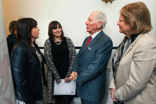 Gay Byrne parts some words of wisdom.