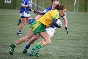 Donegal v Cavan: Pic Gabrielle Gallagher