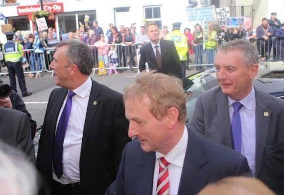Taoiseach Enda Kenny arriving at the summer school. Pic Northwestnewspix