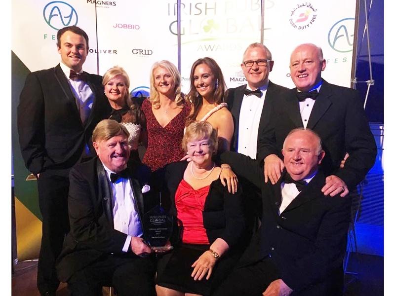 Donegal businessman Jim McGettigan wins Lifetime Achievement
