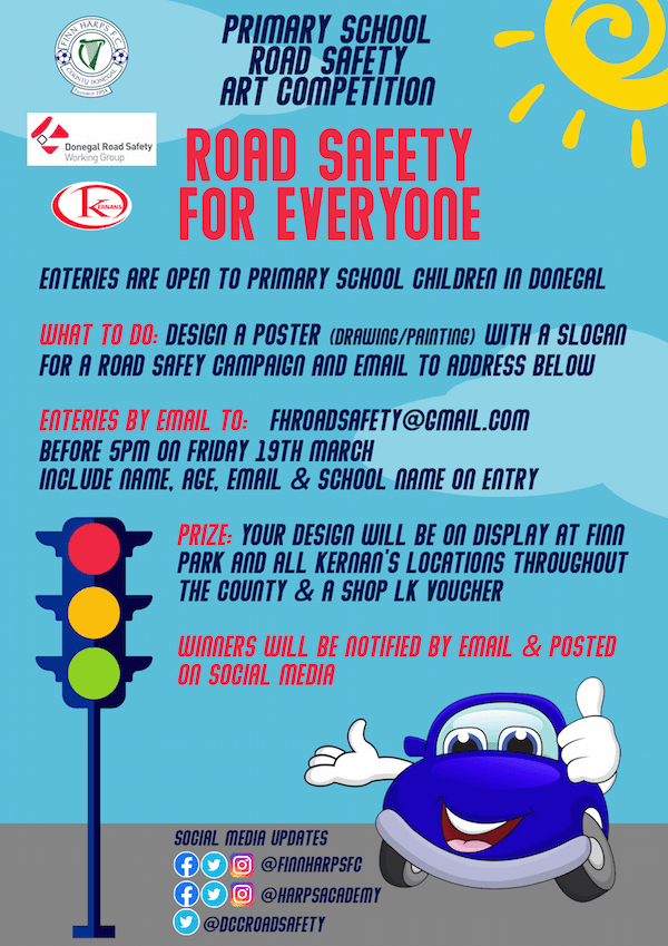 enter the primary school road safety