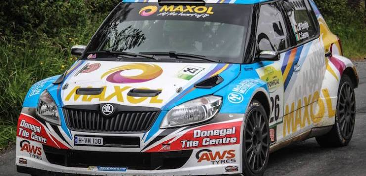 Local crews are gearing up for 2017 Ulster Rally this weekend