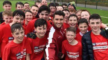 Sky Sports Academy GAA Masterclass with Bernard Brogan