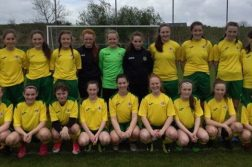 Donegal Women's League Under-14 squad