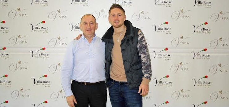Jackson's and Villa Rose Hotels announced as official Jason Quigley sponsor