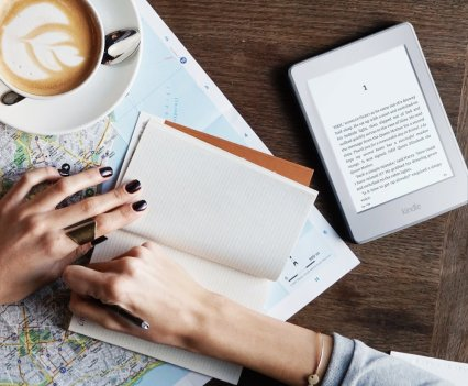 """Kindle Paperwhite E-reader, 6"""" High-Resolution Display"""