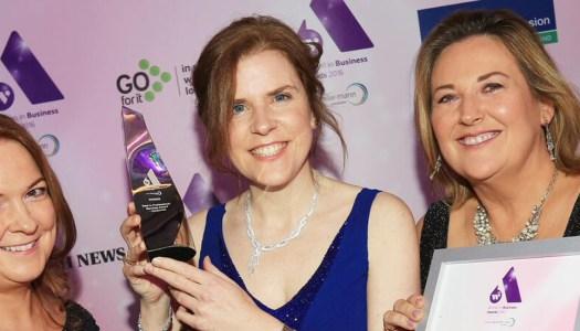 Inspirational tech pro Sinead picks up prestigious award