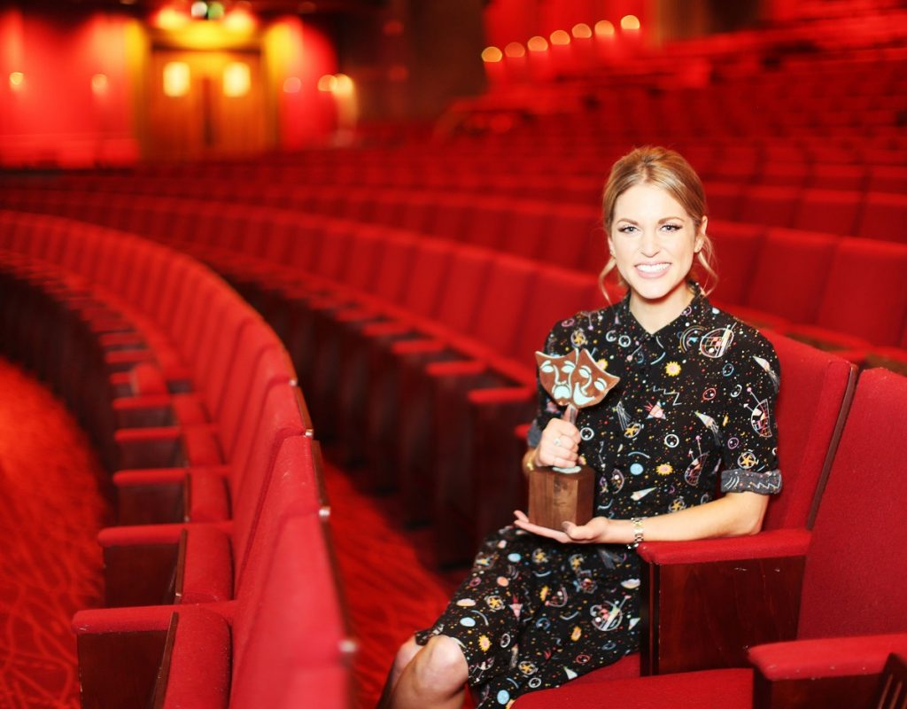 NO REPRO FEE. 29/11/2016. Actress and author Amy Huberman was today announced as a judge for the Bord Gais Energy Student Theatre Awards. This will mark Amy's  third year sitting on the judging panel for the Awards which are open to primary school students from 3rd-6th class and all secondary school students. The deadline for entries to production categories is 27 January 2017 and the closing date for entries in the written categories is 10 February 2017. Shortlisted schools will be invited to a special awards ceremony at the Bord Gais Energy Theatre on 17 May 2017 and will also be in with a chance to perform on stage. For more information go to www.bgesta.ie. Photo: Leon Farrell/Photocall Ireland.