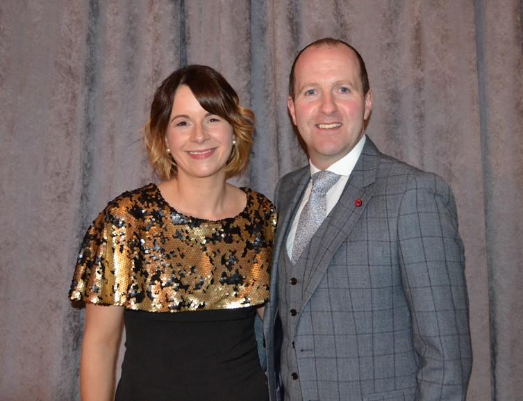 Louise Patton and Paddy McMenamin
