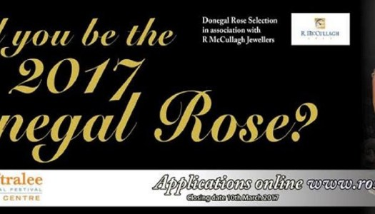 Would you like to be the 2017 Donegal Rose?