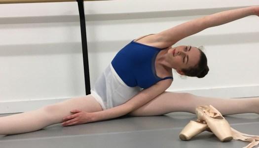 Ballerina Sarah will be 'en pointe' this summer