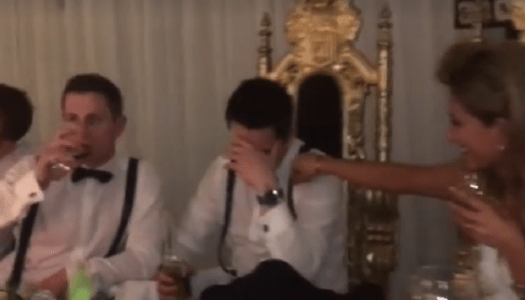 300 wedding guests make superb video to help the homeless