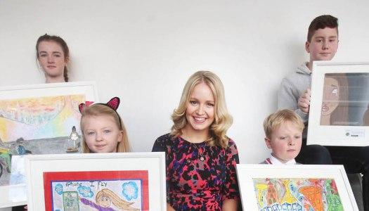 Young Donegal artist Rachel wins a Junior Painter Award