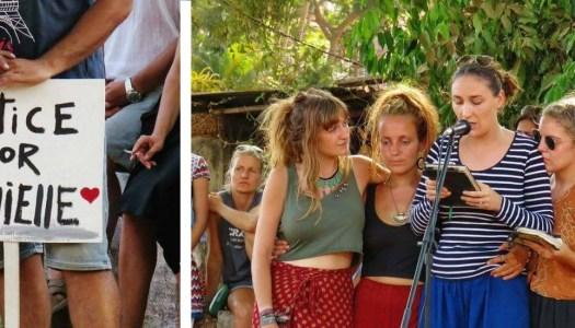 Friends of Danielle speak up for women all over the world