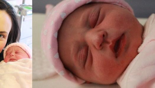 Baby Saphia's swift delivery