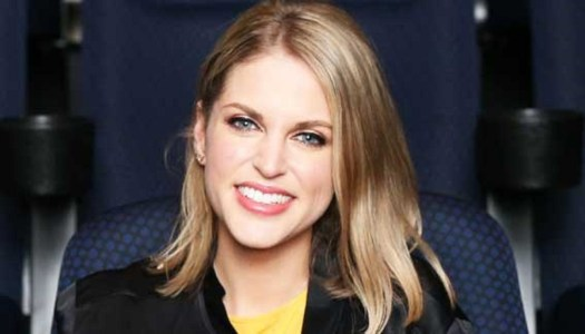 Amy Huberman snaps a picture with her favourite doll – Lottie!