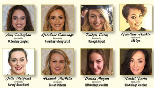 Which of these 12 women will be the next Donegal Rose?