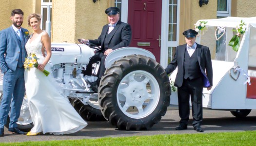 Donegal bride gifted with unique mode of transport from doting dad!