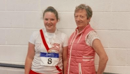 Aoife brings home gold after impressive shot put win!