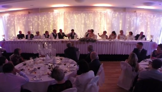 Watch: Best Man turns wedding speech into hilarious tune
