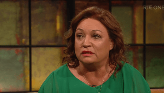 Watch: Norah Casey bravely speaks out about domestic violence on 'Late Late Show'