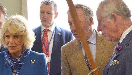 Camilla champions Donegal style during Ireland visit