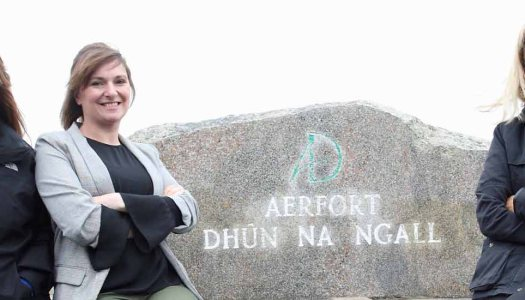 Two Nat Geo journalists are having the coolest time in Donegal