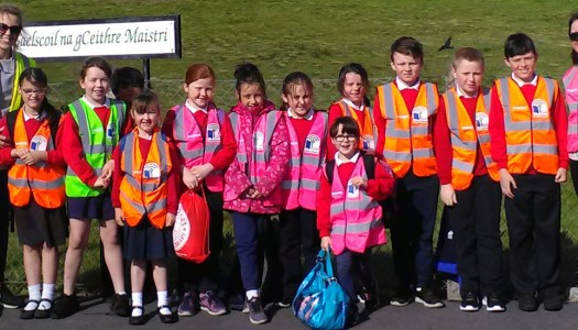 Gallery: Donegal schoolchildren do 'Walk on Wednesday'