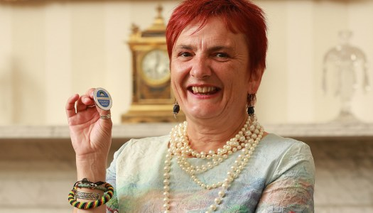 Need a top tour guide? Máire has the badge to prove it!