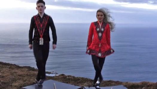 WATCH: Donegal Dancing twins star in epic Ed Sheeran video