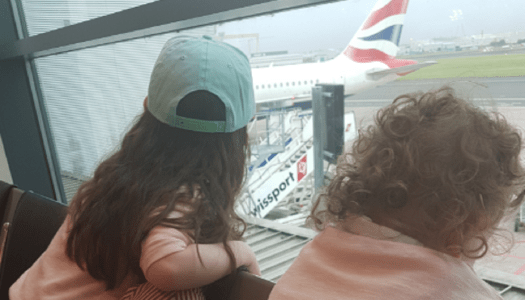 Thoroughly Modern Mammy – Flying with wobblers
