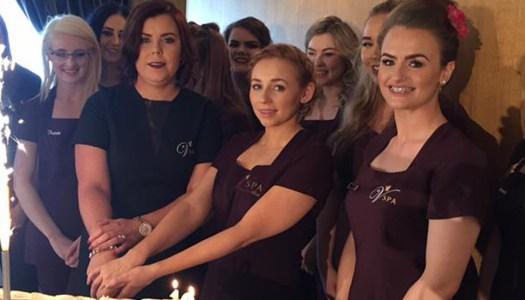 Events: V Spa hosts very glam 10th birthday party