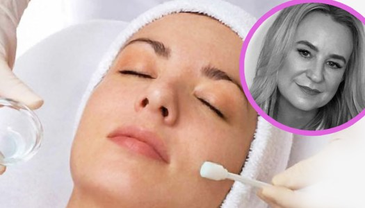 Peel to reveal brighter new skin
